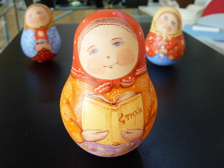 """The Russian clay toy """"Tumbler toy"""""""
