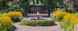 Garden Fountain Panorama - 68235291