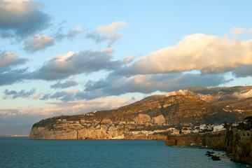 Sorrento coast, Italy.