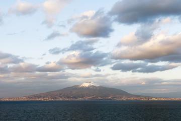 Vesuvius volcano, Italy.