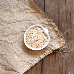Raw Organic Quinoa grain