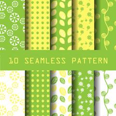 pastel pattern set 5