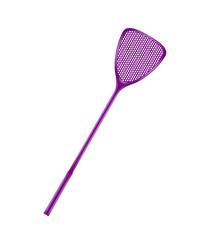 Purple flyswatter