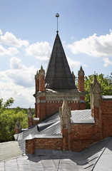 Former Lutheran church in Polotsk. Belarus