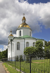 Cathedral of the Epiphany in Polotsk. Belarus