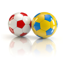 football World Cup on a pair of a pair of balls