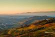 Panorame nelle Langhe del Piemonte