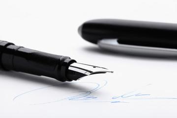 Füllfederhalter & Unterschrift
