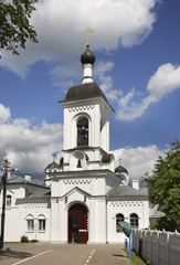 Convent of Saint Euphrosyne in Polotsk. Belarus