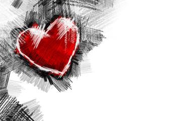 Heart pancil 12