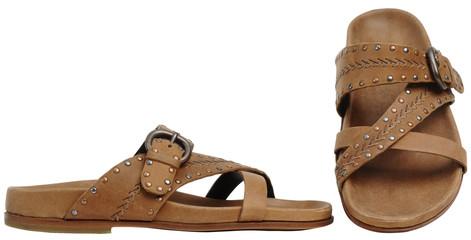 Brown man's sandals