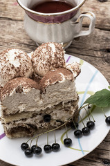 coffee cream cake called tiramisu