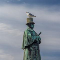 Denkmal Alexander Lange Kielland