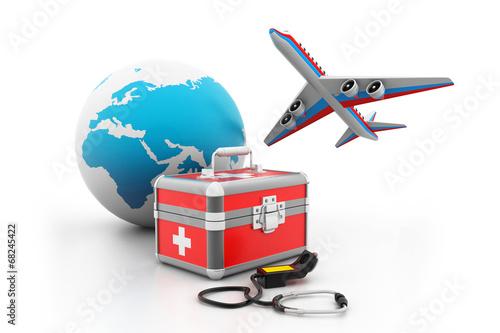 canvas print picture Medical tourism