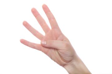 Hand gesture 4