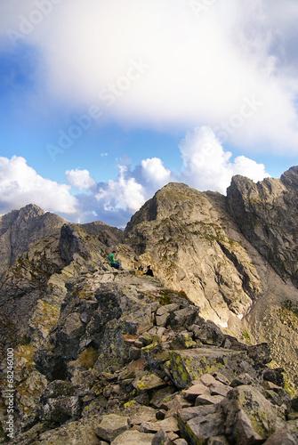 Beautiful view of Tatra mountains, Kościelec, Poland © Patrycja