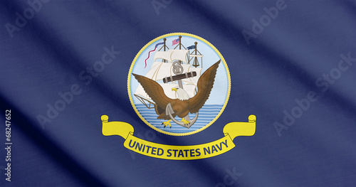 Aluminium Oost Europa Flag of the US Navy