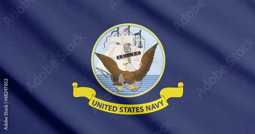 Plexiglas Oost Europa Flag of the US Navy