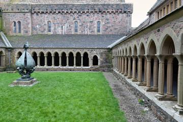 Iona Abbey cloister