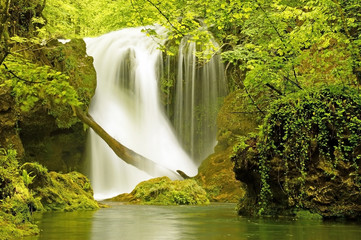 Waterfall La Vaioaga