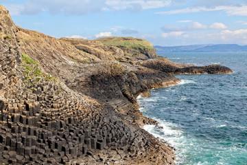 Isle of Staffa coast, Scotland