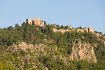 The castle in Alanya