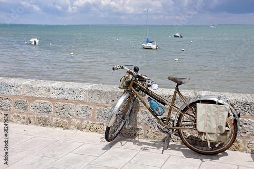 fahrrad am kai