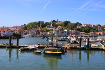 Le port de Saint-Jean de Luz, Pays Basque