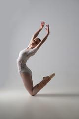 Graceful ballet dancer