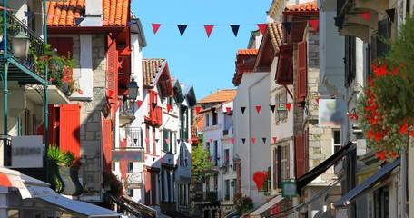 Rue de Saint-Jean de Luz, Pays Basque