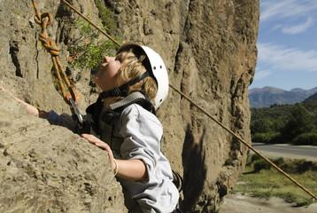 Escalando en Patagonia