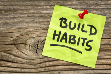 build habits reminder