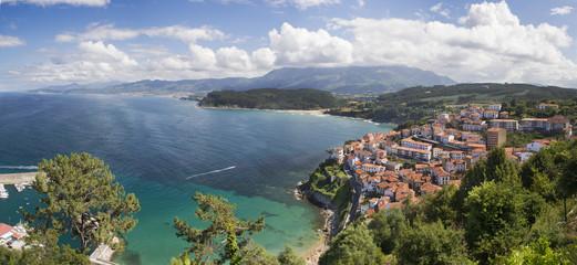 Panorámica costera asturiana
