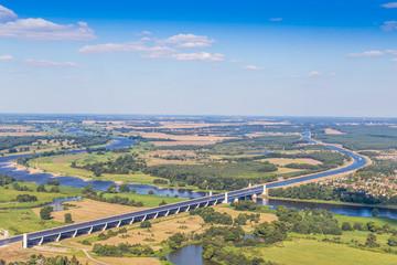 Luftbild Wasserstraßenkreuz