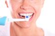 Zahnpflege mit der elektrischen Zahnbürste