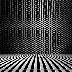 metal with hole background
