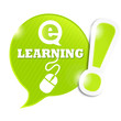 bulle symbole e-learning  (cs5)