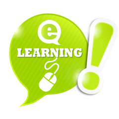 bulle symbole e-learning  (cs5)