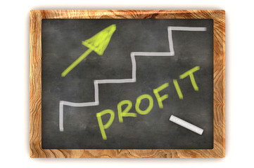 Blackboard Profit Graph