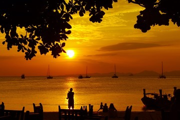 sunset@krabi thailand