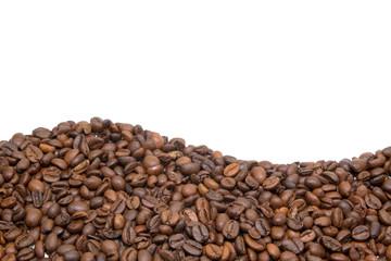 Rahmen aus Kaffeebohnen