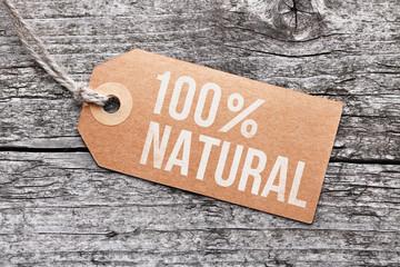 """Label """"Natural"""""""
