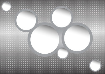 Abstract design bubble, vector