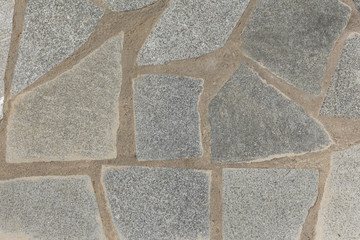 texture of the masonry on the floor