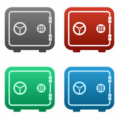 Safe icon set