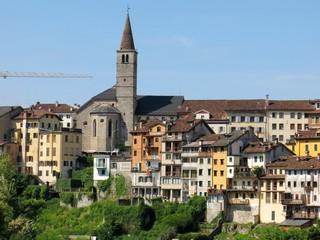 Belluno Town Village Italy