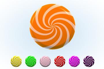 Orange Sherbet Twist