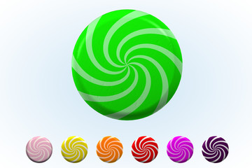 Lime Sherbet Twist