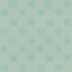 Seamless Christmas pattern on paper texture