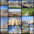 Italy photos - collage
